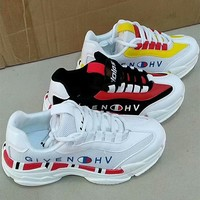 """Givenchy"" Women Casual Fashion Multicolor Letter Thick Bottom Sneakers Running Shoes"