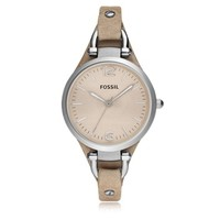 Fossil Designer Women's Watches Georgia Riley Stainless Steel Women's Watch