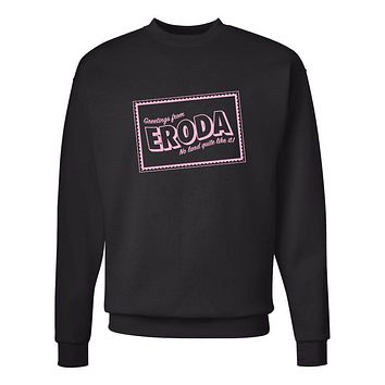 "Harry Styles ""Greetings from Eroda"" Crew Neck Sweatshirt"