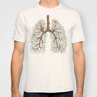 Breathe! T-shirt by Marcelo Jiménez | Society6