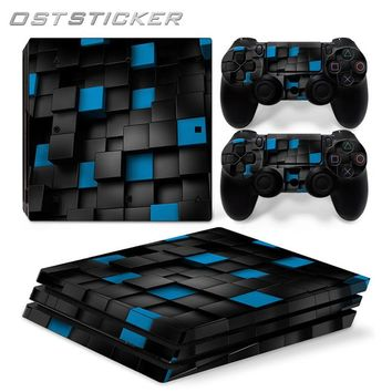 30% off OSTSTICKER 3D Cartoon Vinyl Skin Sticker for Sony PS4 Pro For Sony Playstation 4 Pro Console and Controllers Skins Decal