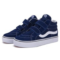 Vans Girls Boys Children Baby Toddler Kids Child Fashion Casual Sneakers Sport Shoes