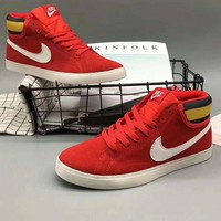 NIKE Women Men Running Sport Casual Shoes Sneakers  high tops Shoes Red G-A36H-MY