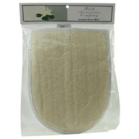 Spa Accessories Loofah Terry Mitt By Spa Accessories