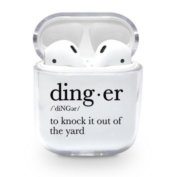Dinger Definition Airpods Case