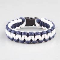 Rothco Paracord Bracelet Navy Combo One Size For Men 21842621101