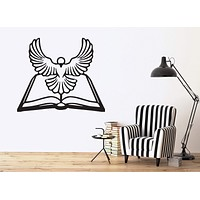 Vinyl Decal Animals and Birds Decor Wall Sticker General Ledger Bible White Dove Holy Spirit Unique Gift (n392)