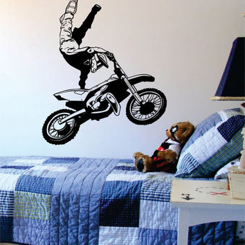 Dirtbiker Version 5 Moto X Design Sports Decal Sticker Wall Vinyl