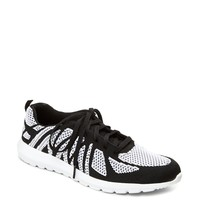 Black Combo Zig Zagged Trainer By Qupid®