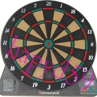 electronic dart target electronic dart board scorer 37 game 1LED 6 dart