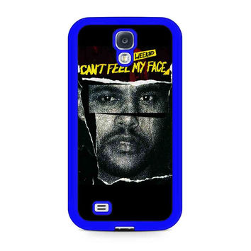 Weeknd Can'T Feel My Face Samsung Galaxy Case Available For Galaxy S4 Case Galaxy S5 Case Galaxy S6 Case Galaxy S6 Edge Case