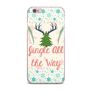 "Famenxt ""Jingle All The Way"" Holiday Digital iPhone Case"