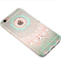 New Hollow Lace Case Cover for iPhone 7 7 Plus & iPhone 5s se & iPhone 6 6s Plus +Gift Box
