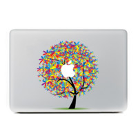 "Colorful Tree MacBook Skin Decal Sticker for Apple Macbook Pro Air Mac 13"" inch Laptop 13 Inch N0013"