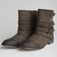 Clayton Buckled Boots