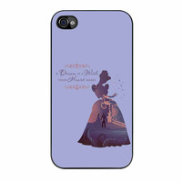 Disney Cinderella Quote iPhone 4s Case