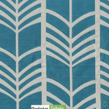 Duralee Sky Lines Polyester Fabric