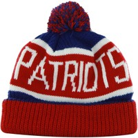 '47 Brand Men's New England Patriots Calgary Cuffed Knit Hat