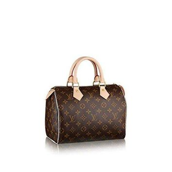 PEAPNG Louis Vuitton Monogram Canvas Speedy 25 M41109  Louis Vuitton Handbag