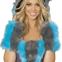 Cheshire Cat Fur Hood