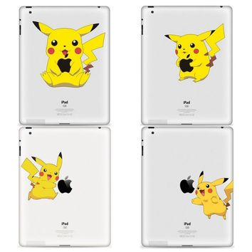 YCSTICKER - 2018 DIY Tablet Partial Sticker Vinyl Decal  Skin For iPad Air Pro 9.7 Mini 7.9 TabletKawaii Pokemon go  AT_89_9