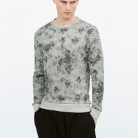 FLORAL SWEATSHIRT New