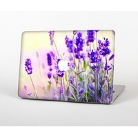 The Lavender Flower Bed Skin Set for the Apple MacBook Pro 13""