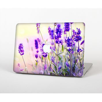 The Lavender Flower Bed Skin for the Apple MacBook Pro Retina 15""