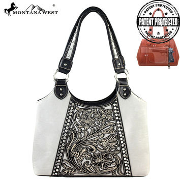 Montana West MW141G-8110 Concealed Carry Handbag