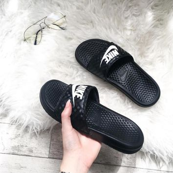Fashion Online Nike Casual Fashion Sandal Slipper Shoes - Black
