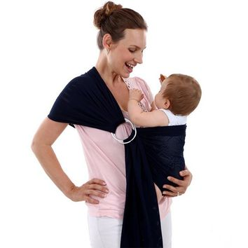 Moby Deluxe Infant Sling. Extremely Strong, Safe and Comfortable.