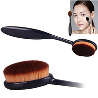 Binmer(TM)Pro Cosmetic Makeup Face Powder Blusher Toothbrush Curve Foundation Brush