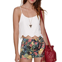 LA Hearts Scalloped Hem Cropped Cami at PacSun.com