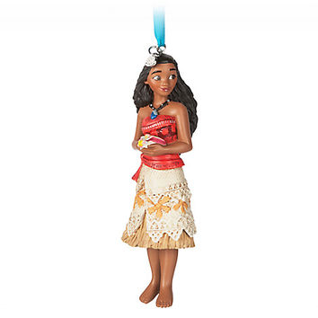 Moana Sketchbook Ornament | Disney Store