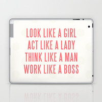 Boss Laptop & iPad Skin | Print Shop