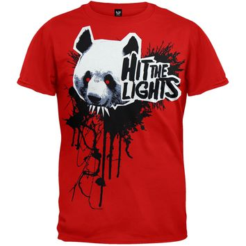 Hit The Lights - Panda Soft T-Shirt