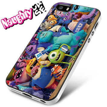 Monsters University iPhone 4s iphone 5 iphone 5s iphone 6 case, Samsung s3 samsung s4 samsung s5 note 3 note 4 case, iPod 4 5 Case
