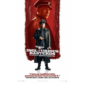 Inglourious Basterds 27x40 Movie Poster (2009)