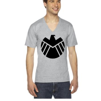 Agents of SHIELD - V-Neck T-shirt