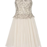 TAMMIE - Lace bodice dress - Cream | Womens | Ted Baker UK