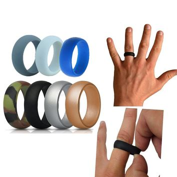 Hypoallergenic Silicone Fitness Wedding Ring