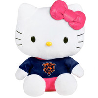 Chicago Bears 8'' Shirtable Hello Kitty Plush - http://www.shareasale.com/m-pr.cfm?merchantID=7124&userID=1042934&productID=549272853 / Chicago Bears