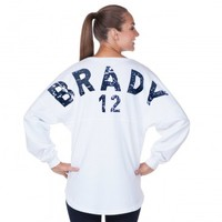 Brady Basic - Tom Brady Fan ❤ - Classic Spirit Jersey®