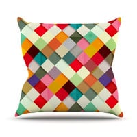 "Danny Ivan ""Pass This On"" Throw Pillow, 20"" x 20"" - Outlet Item"