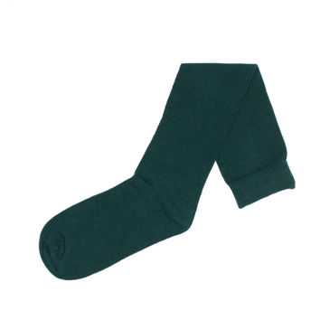 Flat Knit with Comfortoe Technology  Socks (Hunter)