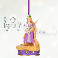 Rapunzel Singing Sketchbook Ornament | Disney Store