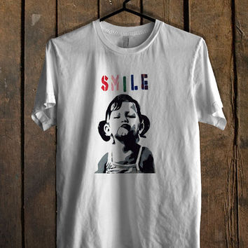 Smile Graffiti T Shirt Mens T Shirt and Womens T Shirt **