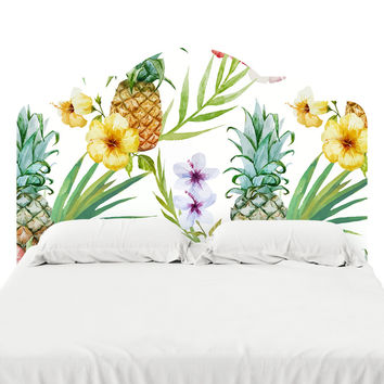 Pineapple Paradise Headboard Decal