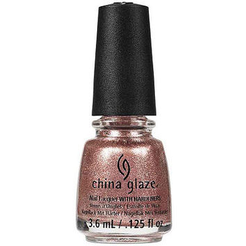 Meet Me in the Mirage (rose gold metallic shimmer)
