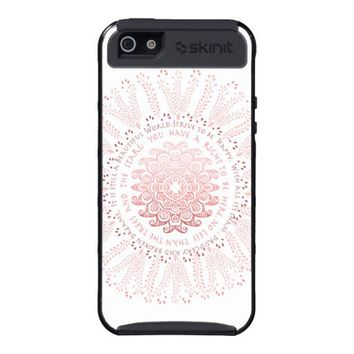 Girly Mandala Paisley Desiderata Case For iPhone 5 from Zazzle.com